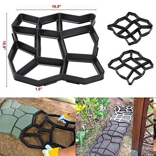Cheap  Stylish Design Plastic Concrete Pathway Paving Mould Great For Paving Patios, Courtyards,..