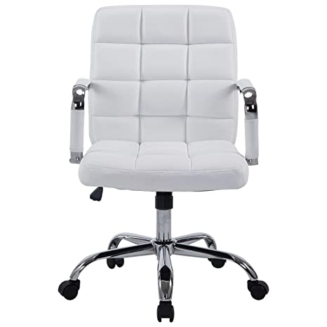 Stupendous Poly And Bark Manchester Office Chair In Vegan Leather White Pabps2019 Chair Design Images Pabps2019Com