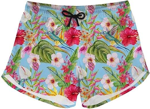 Salabomia Womens Board Shorts Quick Dry Swim Shorts Beach Boardshorts