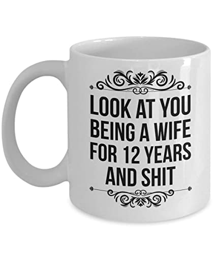 Image Unavailable. Image not available for. Color 12 year anniversary 12 year anniversary Gifts ...  sc 1 st  Amazon.com & Amazon.com: 12 year anniversary 12 year anniversary Gifts for Wife ...