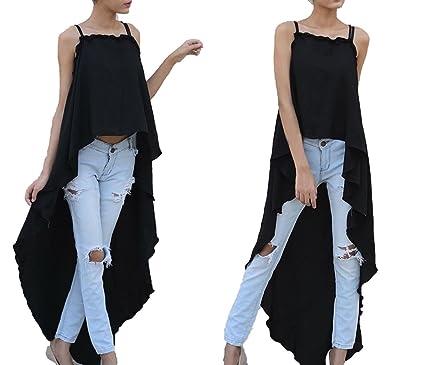 Sleeveless Cute Long Dress Off Shoulder Kawaii Casual Beach Boho Dresses Irregular Vestidos,Black,