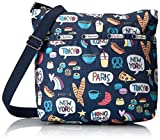 LeSportsac Classic Small Cleo Crossbody Hobo, Food Talk