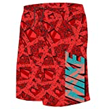 Nike Boy's Granite 9'' Swim Trunks M Gym Red