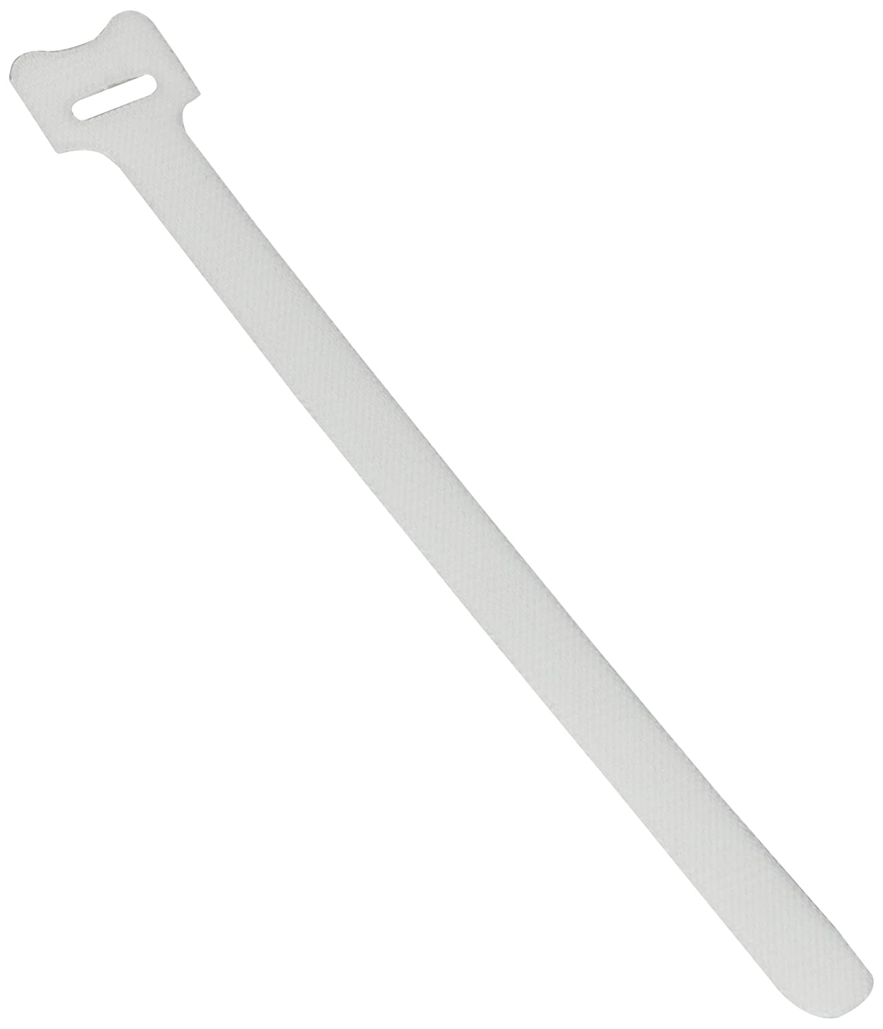 BlueDot Trading Hook Loop Fastener Cable Tie .5x8 White 30 Pack
