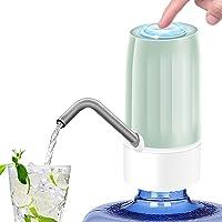 TECHVIDA Dispensador de Agua Automático Portátil USB Recargable Bomba de Agua Potable Eléctrica Inalámbrica Bombeo…