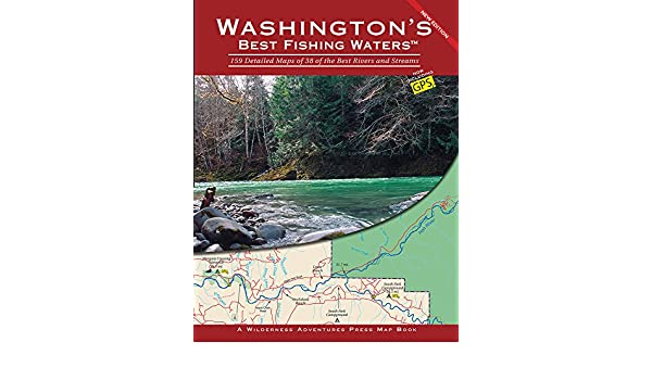 b258365198 Amazon.com  Washington s Best Fishing Waters  159 Detailed Maps of 38 of the  Best Rivers and Streams eBook  Wilderness Adventures Press  Kindle Store