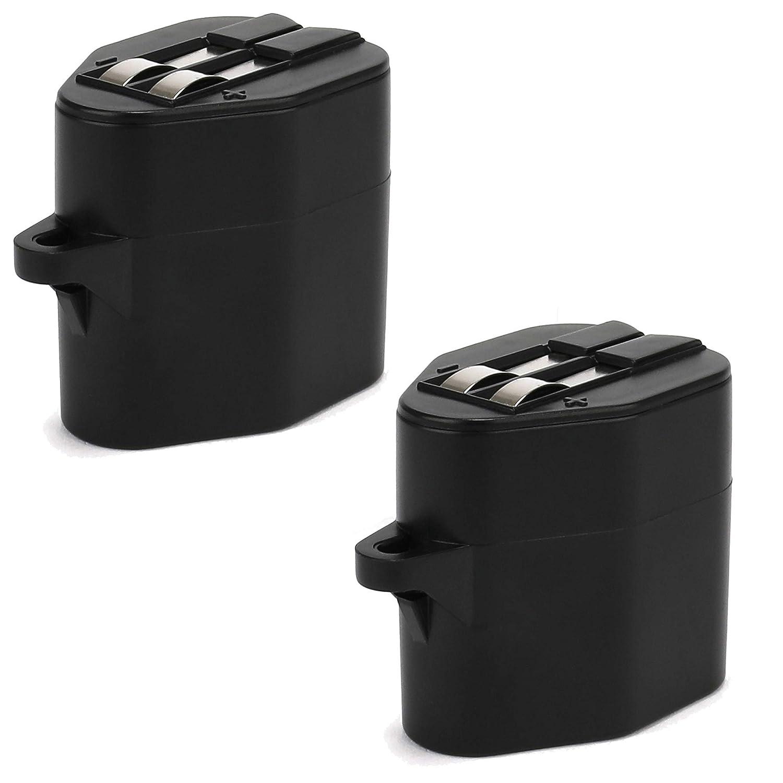 CELLONIC 2X Batería Premium (6V, 2000mAh, NiMH) Compatible con ...