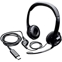 Logitech H390 Wired Headset, Stereo Headphones with Noise-Cancelling Microphone, USB, In-Line Controls, PC/Mac/Laptop…