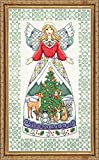Design Works Jim Shore Winter Angel Cross Stitch Kit by Design Works