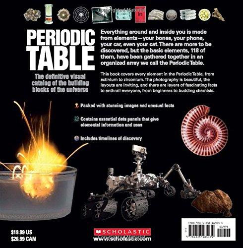 the periodic table sean callery miranda smith 9781338185034 amazoncom books - Building Periodic Table Activity