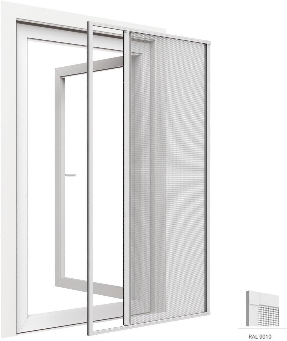 Mosquitera enrollable para puertas de aluminio 125 x 220 cm ...