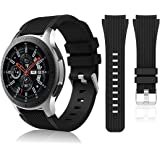 HSWAI Compatible with Samsung Galaxy Watch 46mm Bands/Gear S3 Frontier, Classic Watch Bands/Galaxy Watch 3 Bands 45mm, 22mm S