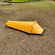 Galapare Backpacking Tent Outdoor Camping Sleeping Bag Tent Lightweight Single Person Tent