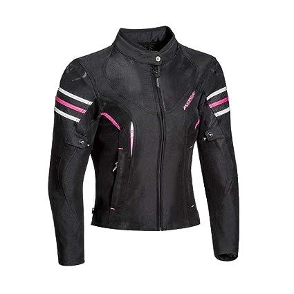Ixon Ilana Negro Fushia chaqueta moto: Amazon.es: Coche y moto