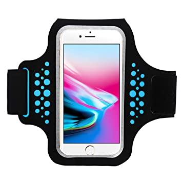 ebbef98d2ba Brazalete Deportivo, Bandas para el Brazo Running Armband para Moviles  iPhone 8 Plus/7 Plus/6 Plus, Samsung Galaxy S9/S8S7 Edge Teléfono Debajo de  5.8 ...