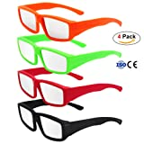 Amazon Price History for:CPPSLEE Solar Eclipse Glasses- CE and ISO Certified Safe for Great American Total Solar Eclipse Shades August 21, 2017 (4 Pack - Colorful Plastic of set)