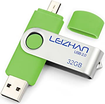64GB Micro USB 2.0 Flash Memory Drive Stick Pen U-Disk for OTG Android Smartphone Tablet Samsung HTC Green