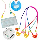 Face Mask Lanyard Handy&Convenient Safety Mask Holder&Hanger Comfortable Around the Neck Facemask Rest Ear Saver…