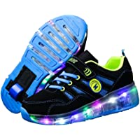 Ufatansy CPS LED Fashion Sneakers Kids Girls Boys Light Up Wheels Skate Shoes Skates Sneakers