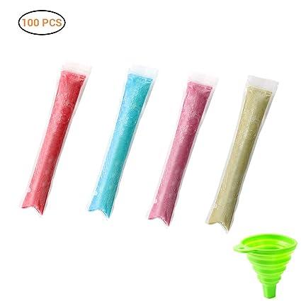Compra Surenhap 100pcs Bolsas de Hielo plástico Mold ...