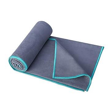 Provide The Best Microfibra de Secado rápido Ligera Toalla Absorbente Compacto Ultra para Camping Yoga Natación: Amazon.es: Deportes y aire libre