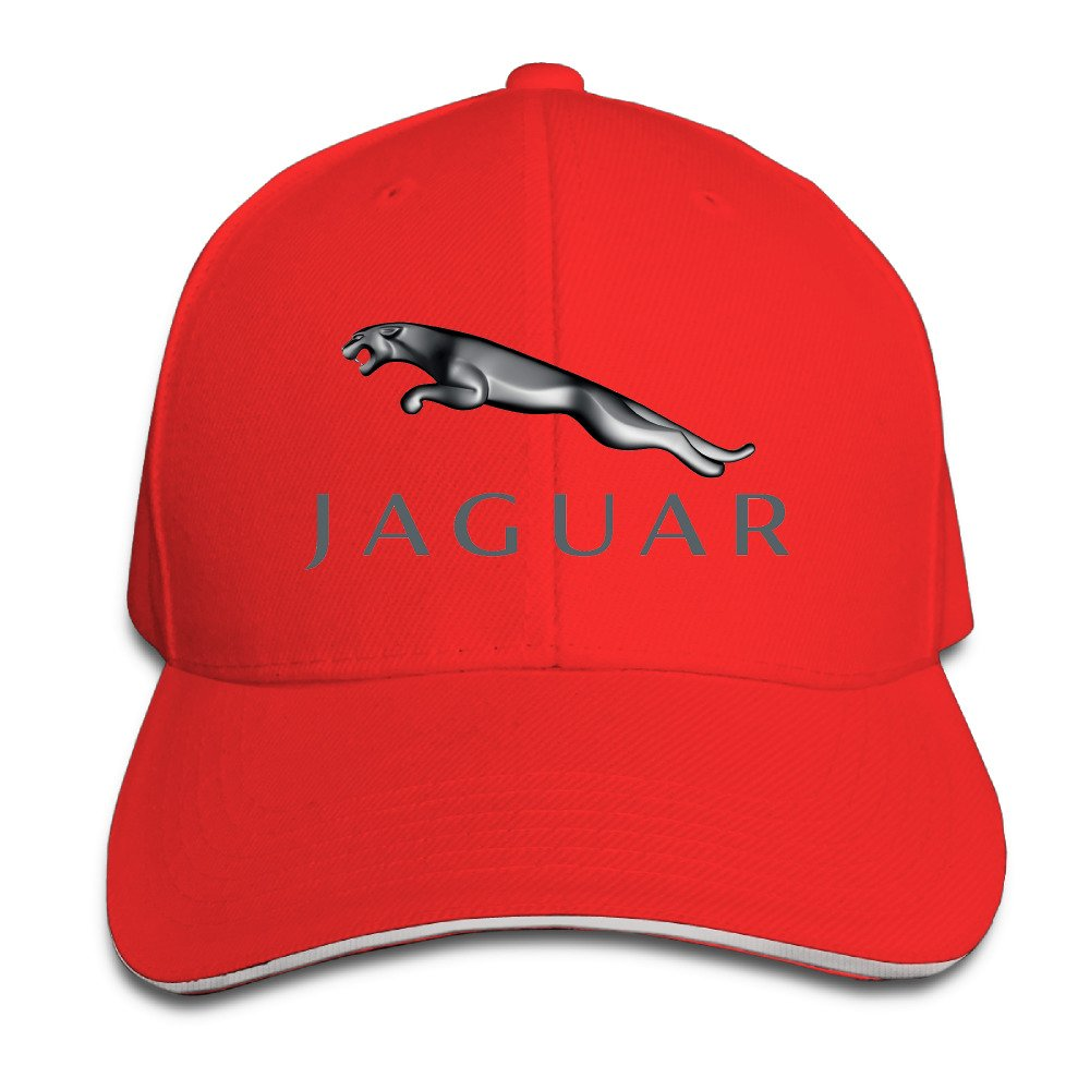 AmFUN Jaguar Logo Adjustable Snapback Peaked Cap Baseball Hats