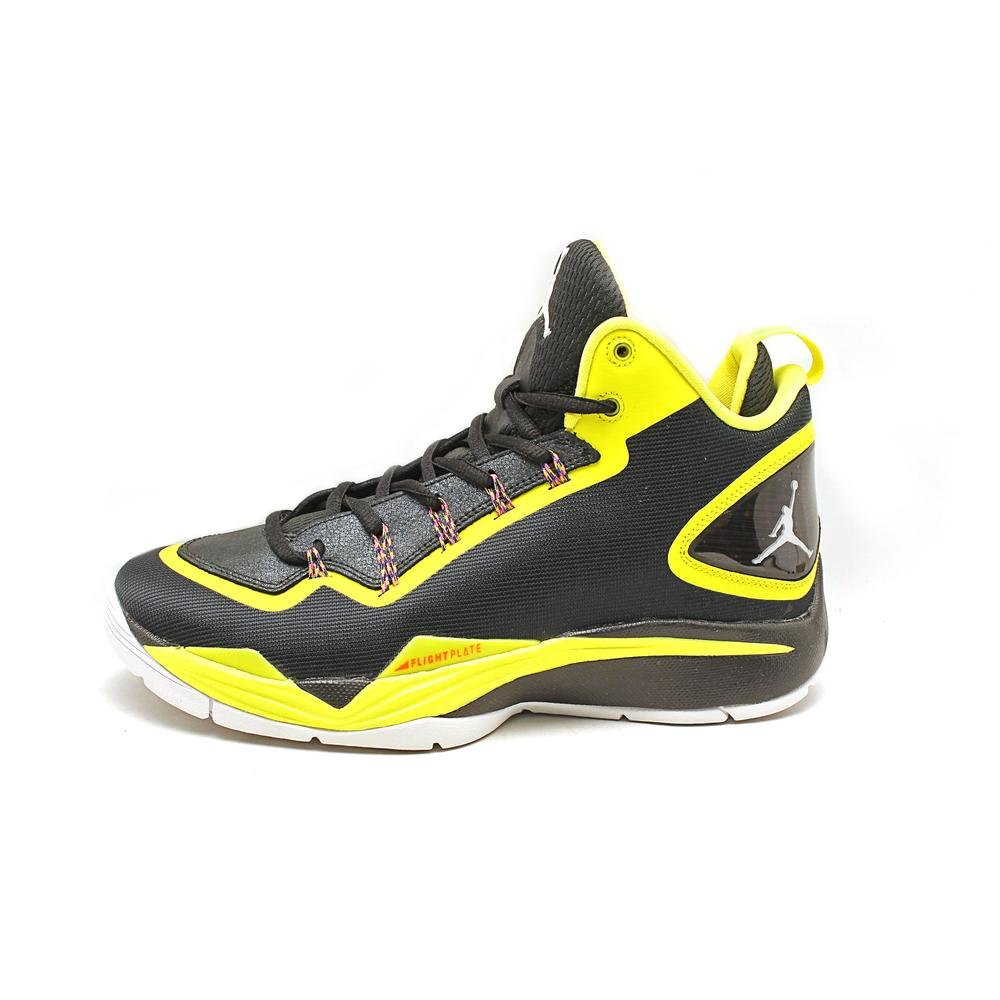 b2cc077c0686 Amazon.com  Jordan Mens Super.Fly 2 PO Black Basketball Shoes 10 M US   Sports   Outdoors