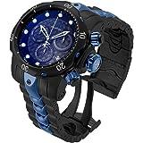 Invicta Men's Reserve Quartz Watch with Stainless-Steel Strap, Black, 26 (Model: 25062)