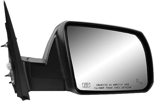 Heated Power Foldaway Fit System 70227T Passenger Side Mirror for Toyota Tundra Passenger Side w//Blind spot Detection Textured Black Sequoia SR5// TRD Model