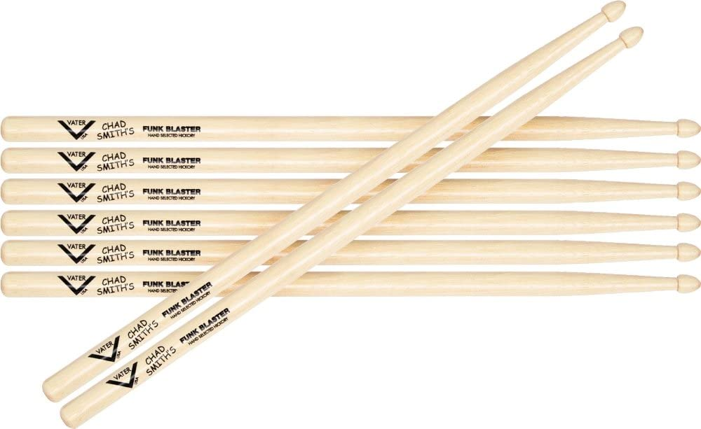 Vater Chad Smith Signature Funkblaster Drumsticks Buy 3 Get 1 Free