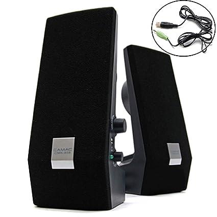 Mini portable USB Powered 3.5mm Stereo Computer Speaker For Laptop PC Desktop