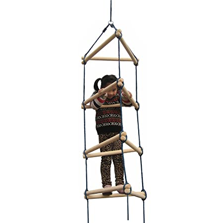 Swing-N-Slide Triangular Rope Ladder Set