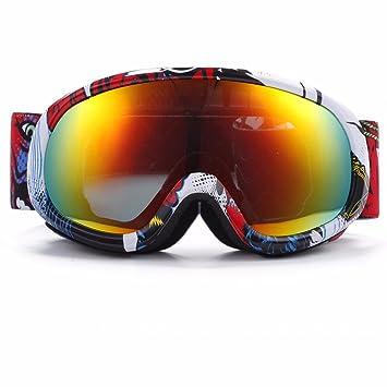 KHSKX Polarizado gafas de esquí alpinismo infantiles gafas gafas de esquí doble sphereA anti-niebla: Amazon.es: Deportes y aire libre