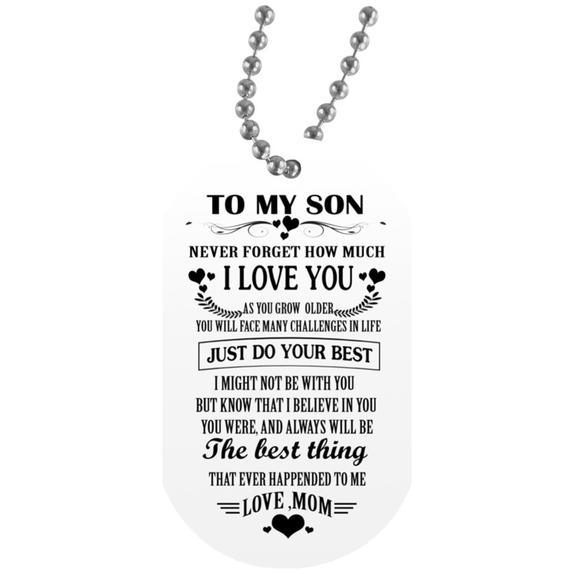 Amazon EConvenience Store Mother And Son Necklace Chain