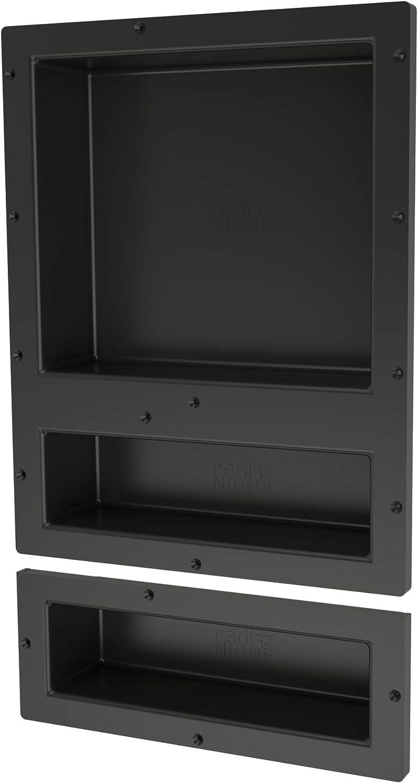 Tile Redi USA RNT1620D-6 Niche Shower Shelf, 16
