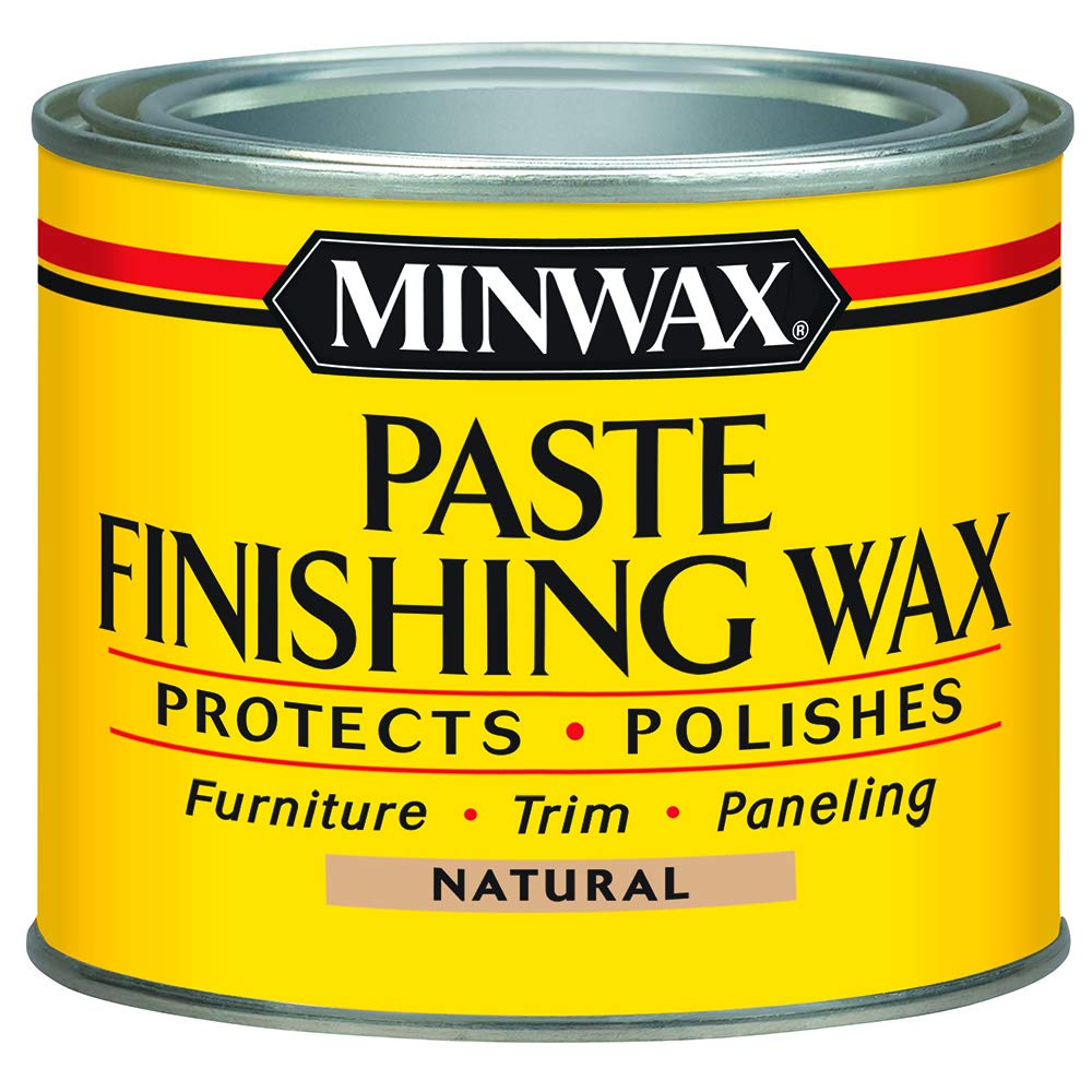 Minwax 785004444 Paste Finishing Wax, 1-Pound, Natural by Minwax