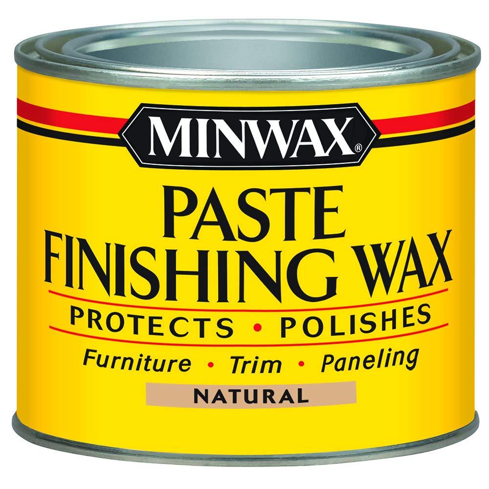 Minwax 785004444 Paste Finishing Wax, 1 lb, Natural