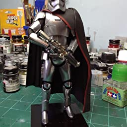 Starwars Captain Phasma custom Chrome//mirrored finish 5 inch decal