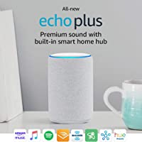Deals on All-new Echo Plus (2nd Gen) Bundle with Philips Hue Bulb
