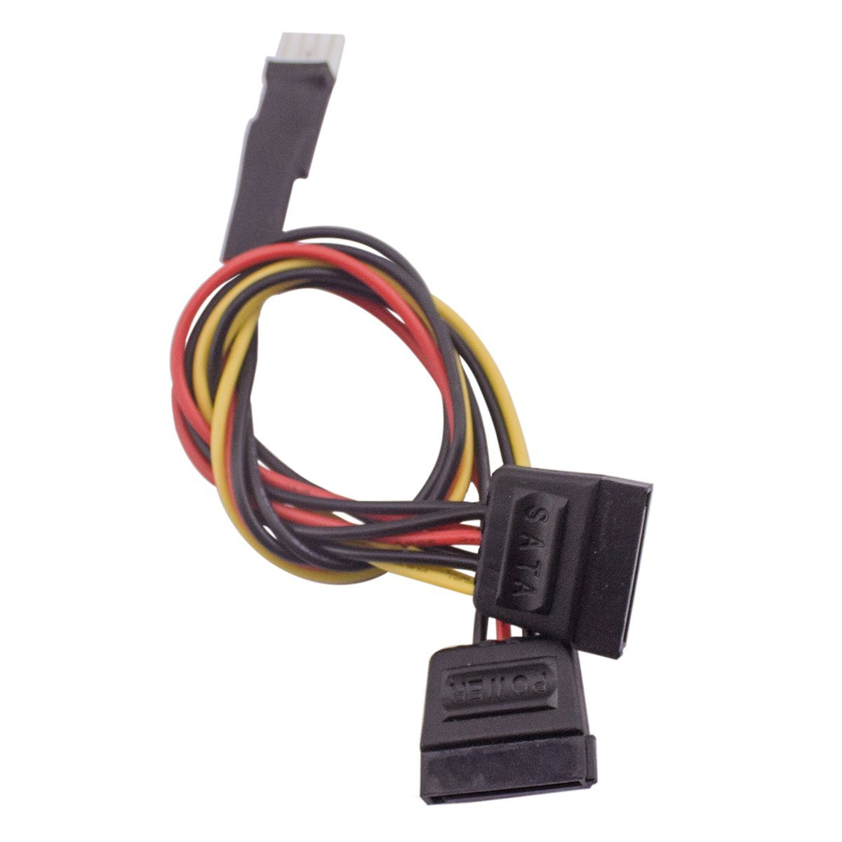 Xinyuansu Xinys Small 4pin Male To 2 X Female Sata 15p Slimline Ata Connector 6 Pin Power Cable Serial Molex Ide 4 M F Hard Drive Adapter Line