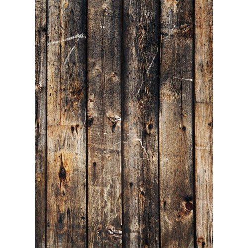 Photography Weathered Faux Wood Floor Drop Background Mat CF4055 Rubber Backing, 5'x7' High Quality Printing, Roll up for Easy Storage Photo Prop Carpet Mat by PHOTOGRAPHY OUTLET