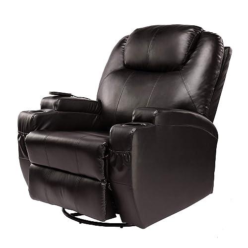 BAHOM 9 Swivel Accent Chair