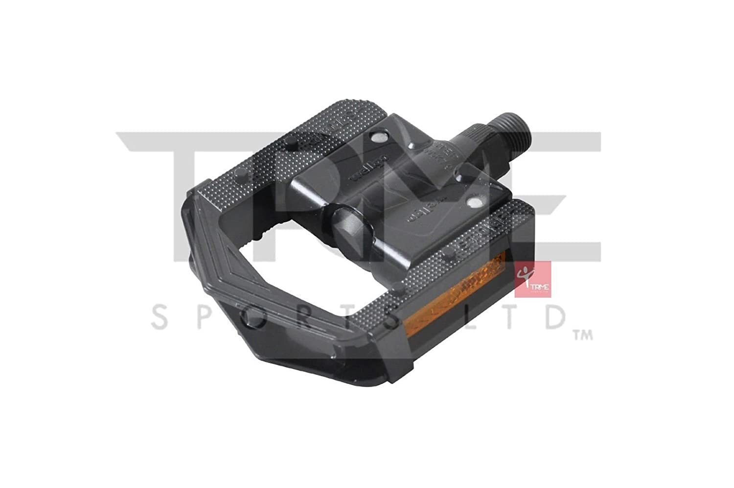 "F265 Folding 9//16/"" Pedal in Black Wellgo 2DU Bearing"