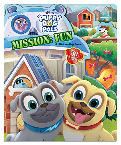 Price comparison product image Puppy Dog Pals Puppy Dog Pals Mission: Fun: A Lift-the-Flap Book
