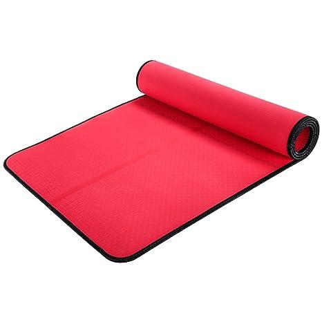 Amazon.com: Alfombrilla de yoga Lily TPE, ampliada y ...