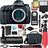 Canon EOS 5D Mark IV 30.4MP Full Frame CMOS DSLR Camera (Body Only) + Deluxe Accessory Bundle