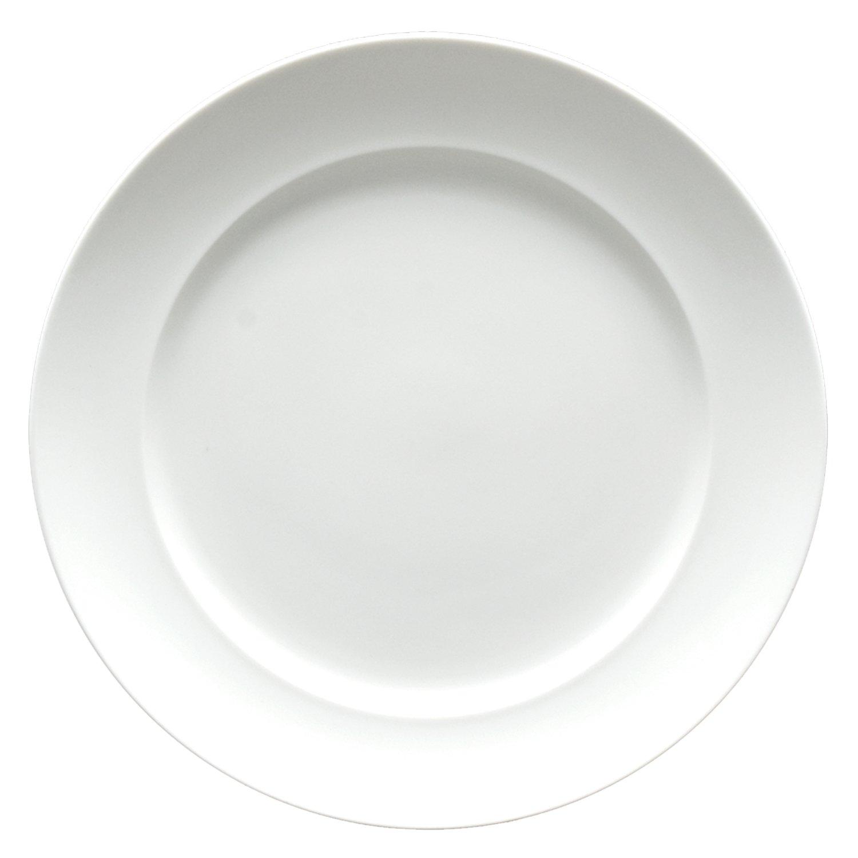Set of 6 Fortessa Fortaluxe Superwhite Vitrified China Dinnerware Cassia 11-3//4-Inch Dinner Plate