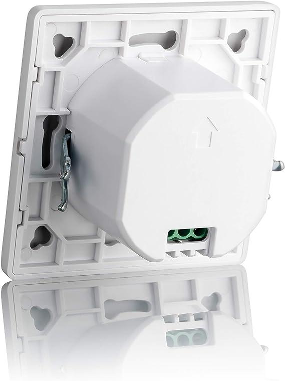 Sebson® Detector de Movimiento empotrable, Interior, HF Sensor ...