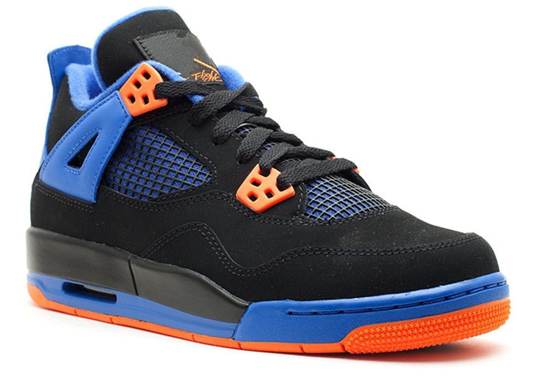 26dd05a0dd9108 stevenok Casual Fashion Sneakers Breathable Air Jordan 4 Retro Gs cavs  Black safety orange game royal