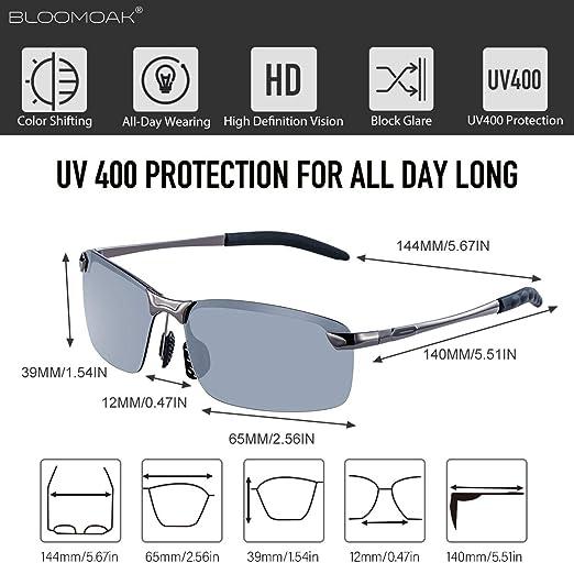 Chudanba Polarisierte Sonnenbrille Fahren M/änner Frauen Anti-reflektierende m/ännliche Pilot Sonnenbrille